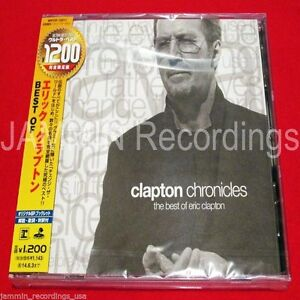 ERIC-CLAPTON-CLAPTON-CHRONICLES-THE-BEST-OF-Japan-CD-ERIC-CLAPTON