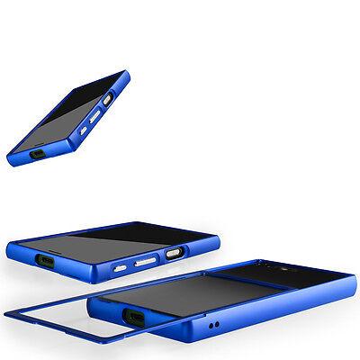 CNC Aluminium Hülle für Sony Xperia XZ Bumper Case Cover Metall Alu Schutz