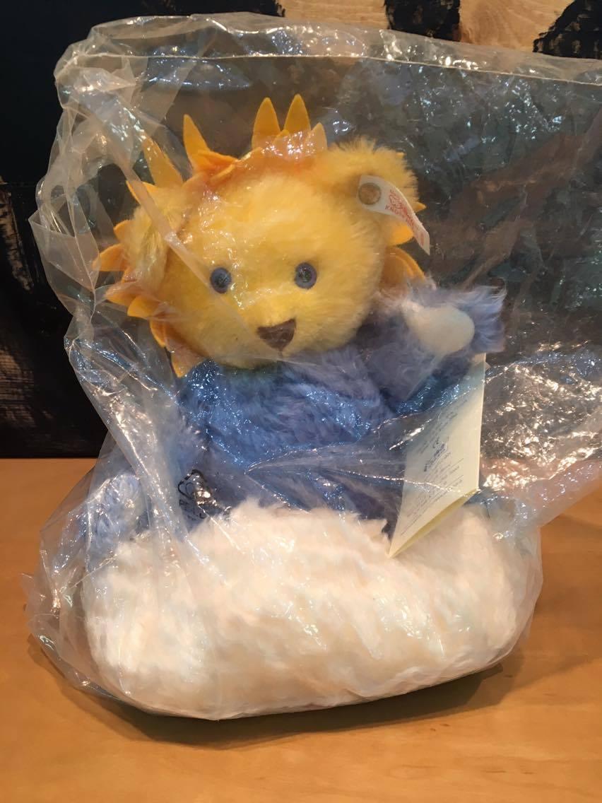 Steiff Four Seasons  Sun Beam  Bear Limited Edition 7  from sitting to head