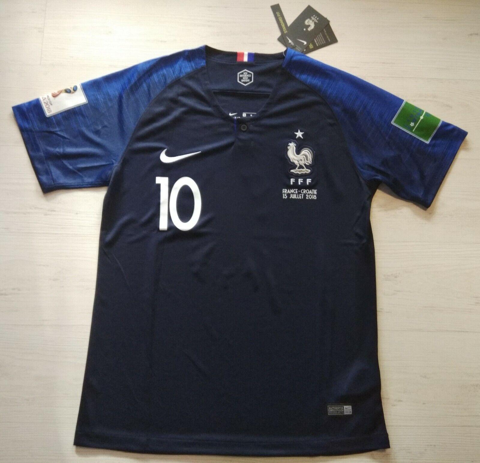 Camiseta Francia final mundial 2018 Mbappe