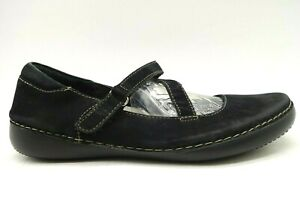 Vionic-Black-Leather-Adjustable-Casual-Comfort-Loafers-Shoes-Women-039-s-7