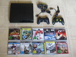 Playstation-3-Slim-Konsole-120GB-komplett-mit-2-Controller-und-3-Gratis-Spiele