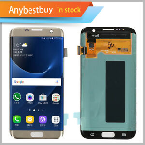 Gold NEW Samsung S7 Edge G935A G935V G935P G935T G935F LCD Screen Replacement