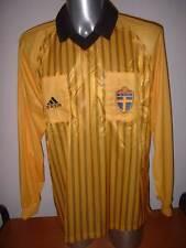 Sweden BNWT Sverige Adidas Referee Vintage Adult XL Shirt Jersey Football Soccer