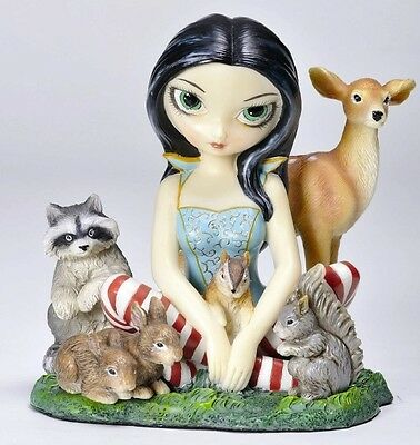 FAIRY AND HER FRIENDS. JASMINE BECKET-GRIFFITH FIGURINE