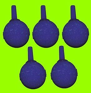 Ausstroemer-5-Stueck-Kugel-blau-23-mm-Luftausstroemer-4-6-Ausstroemerstein-Nr-048
