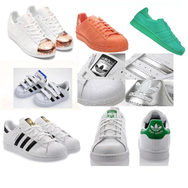 adidas superstar adcolor sneaker dragon fondation metal toe scarpe STAN SMITH