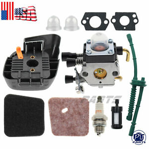 Carburetor for STIHL FS38 FS45 FS46 FS55 KM55 FS85 Air Fuel filter Carb Gaskets