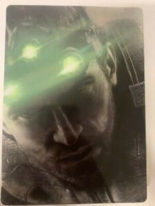 Splinter-Cell-Blacklist-SteelBook-Case-Only-Brand-New-Case-NO-GAME-INCLUDED