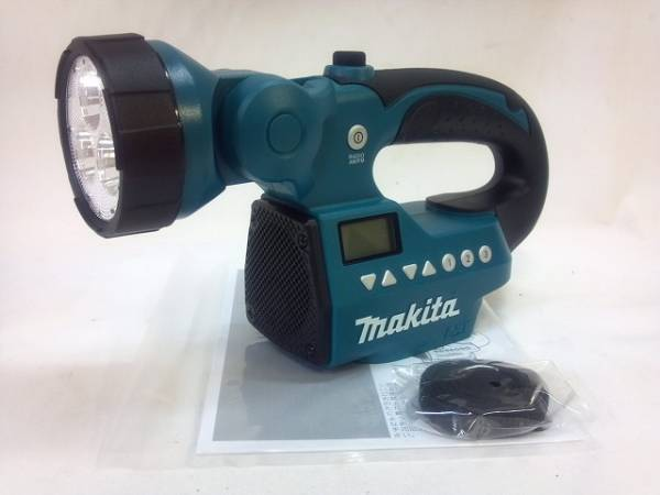 Makita Rechargeable Light Body With Radio 14.4V   18V MR050 From Japan New