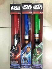 1pcs 3 types Star Wars Cosplay Led Light Laser Sword Telescopic Lightsaber No Bo