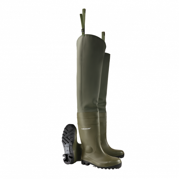 Dunlop boots protomastor Thigh Wader Full Safety Tip Steel Sizes 40