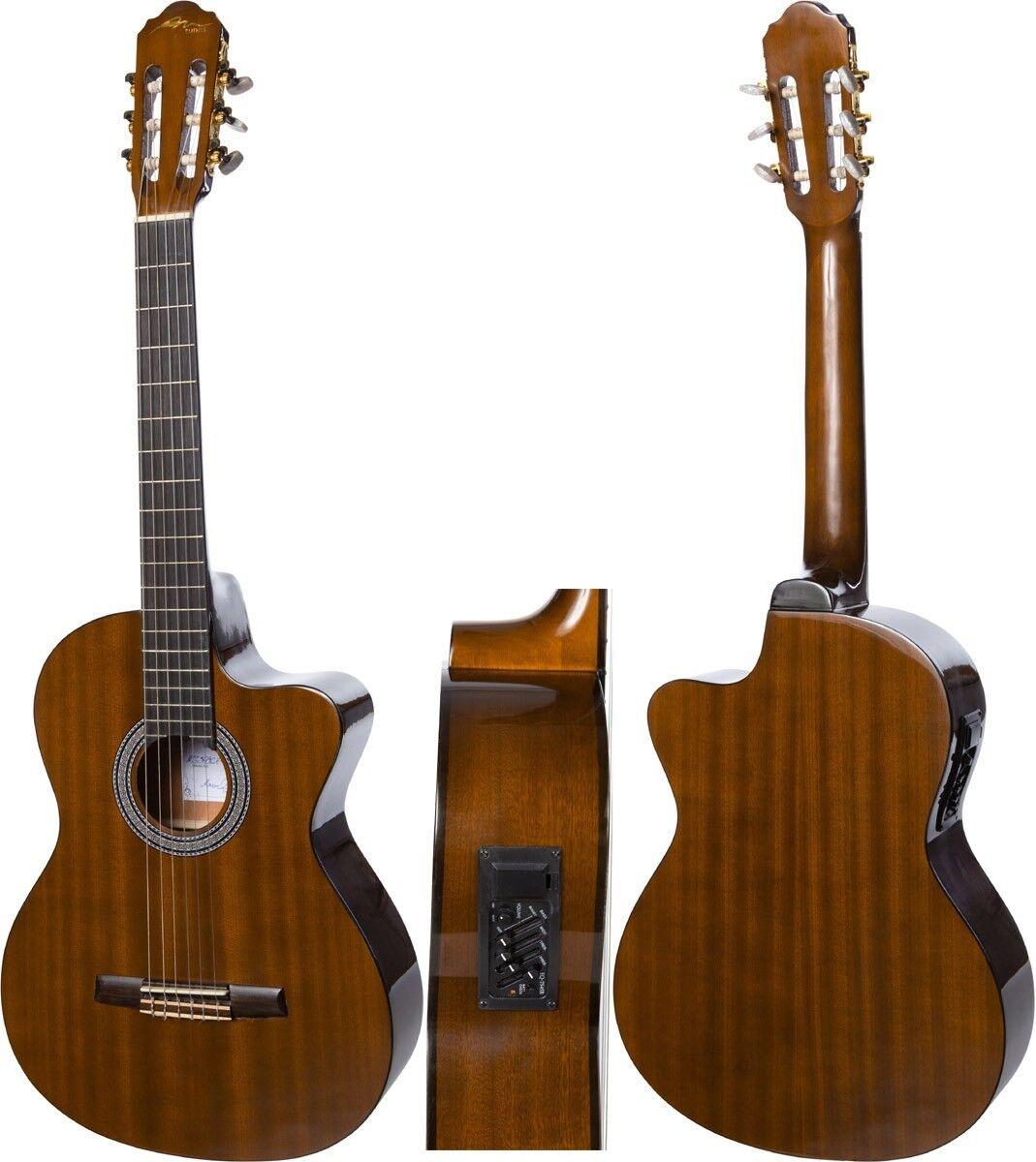 DE Elektro Klassische Gitarre 4 4 39  M-tunes MTC309CE