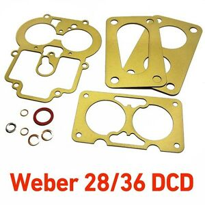 Weber-28-36-DCD-service-gasket-kit-repair-for-Ford-CAPRI-1600-GT-Cortina-Anglia