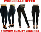 3 Fleece Lined Tights Ladies Women Thermal Thick Winter Stretch Wholesale