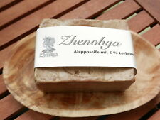 Bio Alepposeife Zhenobya Original Alepposeife 94 % Oliven- & 6 % Lorbeeröl-200g