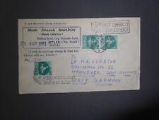 Selten !! RAR--1963-Brief-Karte--nach Deutschland-gelaufen
