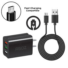 Fast Quick Charging MicroUSB Cable works with Bose QuietComfort 20 in-ear is 5ft//1.5M allows fast charging Speeds!