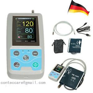 24 Stunden ambulantes Blutdruckmessgerät ABPM Holter,PC-Software,Erwachsene,CE