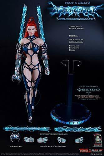 TBLeague 1 6 Phicen Graig F. Weich Tricittà Goddess Goddess Goddess of Lightning bb44aa