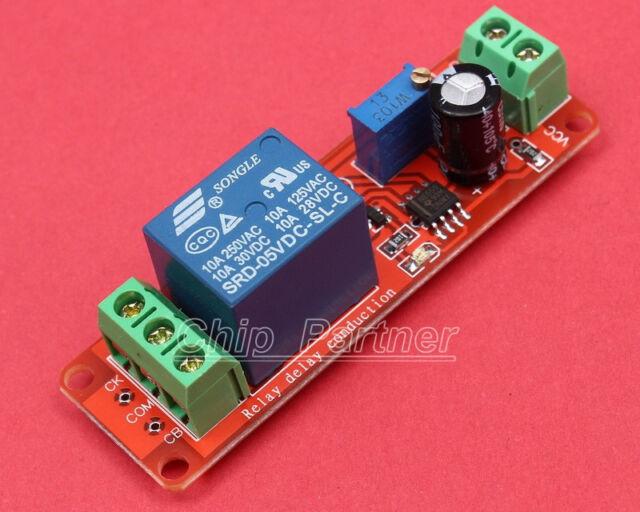 ICSE025A 5V Delay Relay Module Delay Time Adjustable 220V/10A(maximum 2000W)