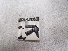 MICHAEL JACKSON BAD TOUR 88 OFFICIAL BADGE BUTTON PINS BROCHE rare *