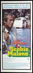 SCOBIE-MALONE-Original-Daybill-Movie-poster-JACK-THOMPSON-Judy-Morris
