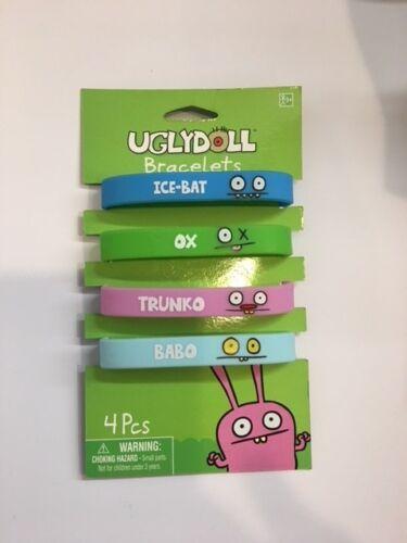 4 pc board new on original board ugly doll bracelets