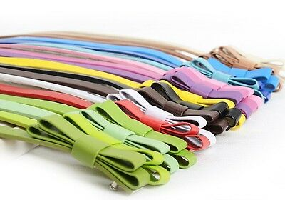 New Fashion Waist Bowknot Women Girl Candy Color Thin Skinny PU Leather Belt