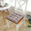 16-034-Cotton-Seat-Pads-Dining-Patio-Home-Kitchen-Office-Chair-Cushions-with-Tie-on thumbnail 16
