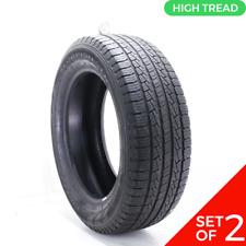 Set Of 2 Used 27555r20 Pirelli Scorpion Str 111h 832 Fits 27555r20