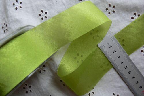 Subtle Shine Silky Ribbon 38mm wide 3/&5Metre Length 9 Colour Choice DC CL1