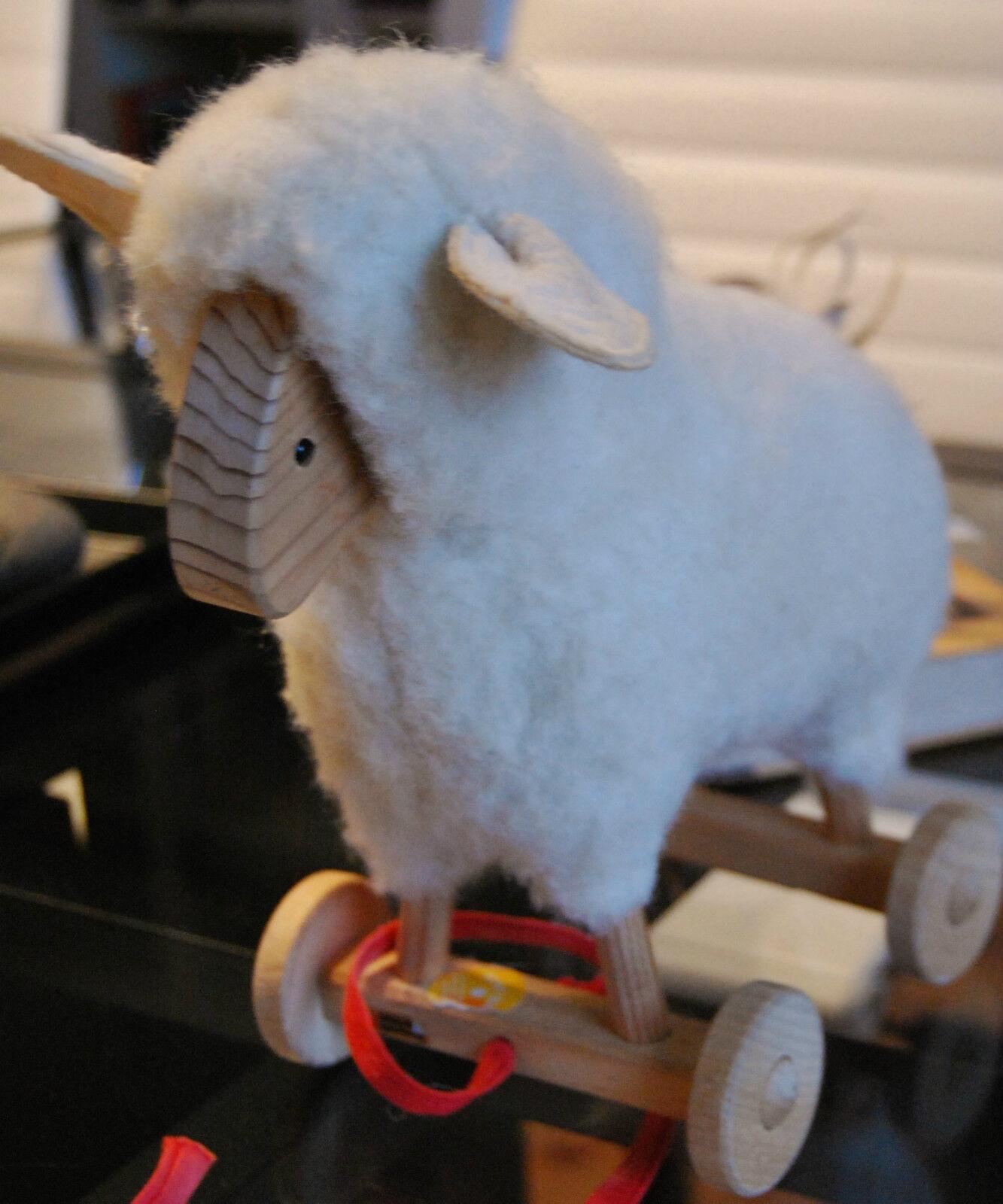 Schaf  Wollschaf von Berling Spielzeug  Spiel gut   Wollschäfchen Rarität