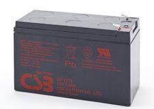 Batterie CSB 12V/7.2Ah pour bateau d'amorcage d'appat, echo sondeur Produit NEUF
