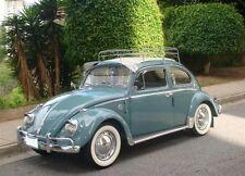 ATLAS 15'' Original White Wall Port a walls Tire Trim set VW BUG PRE BEETLE