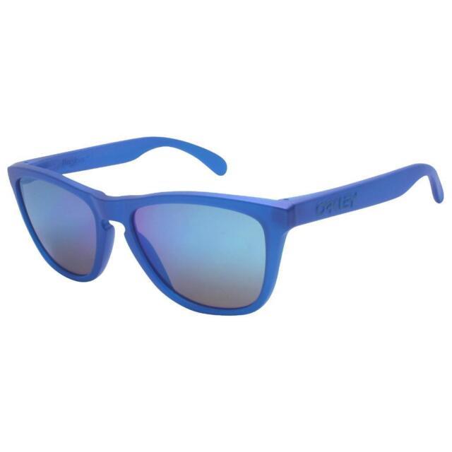 ed0a22d64d Oakley OO 9013-C755 FROGSKINS X-Ray Blue PRIZM Sapphire Iridium Lens  Sunglasses