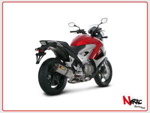 Akrapovic Exhaust Muffler Slip On Honda Crossrunner S H8so2 Hrt Ebay