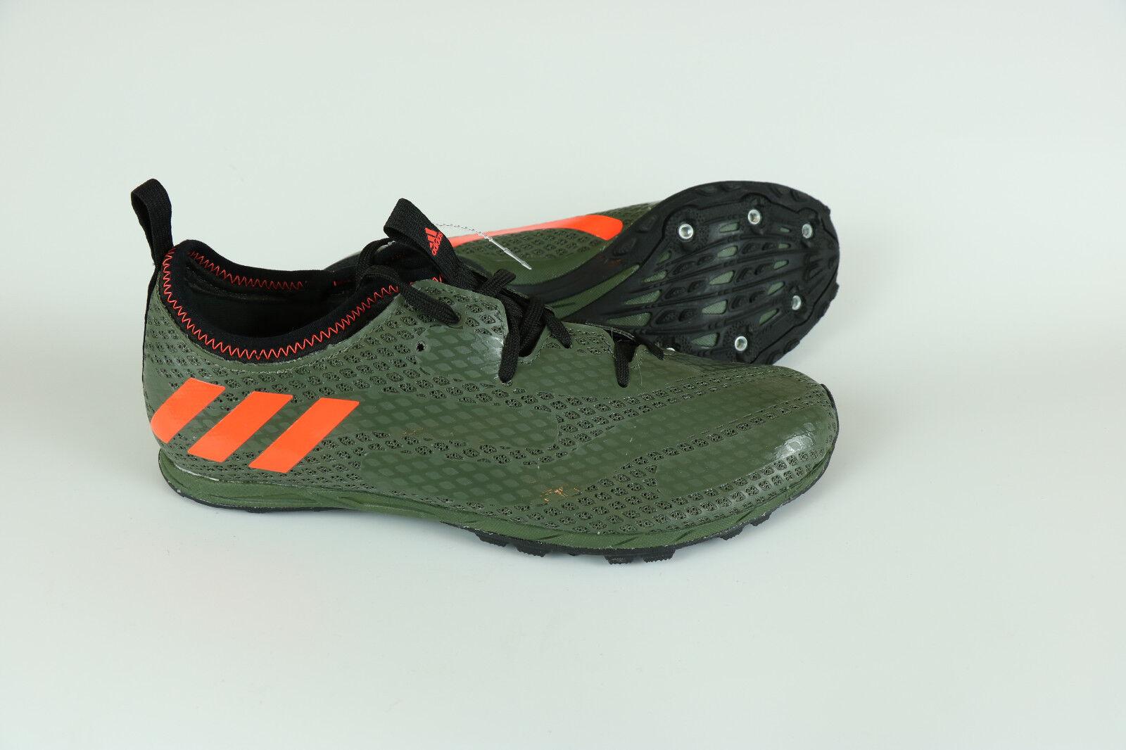 adidas mens spikes track, langlauf schuhe spikes mens ba8387 größe 7,5 a3b2cc
