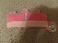 Circo, Girl's, Pink Crown, 1 Birthday, Adjustable, Soft, With Tags