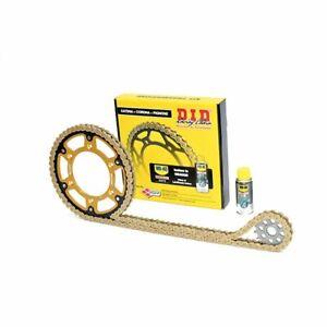 Set-Chain-DID-Sprocket-Sprocket-Stealth-Gold-Yamaha-1000-YZF-R1-5PW-2002-2003