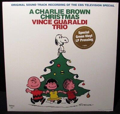 Vince Guaraldi Christmas.Vince Guaraldi Trio Charlie Brown Christmas Green Vinyl Lp New 25218843119 Ebay