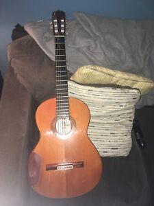 AUDIO Jose Ramirez Segovia Model Classical Guitar Brazilian Rosewood Cedar Top