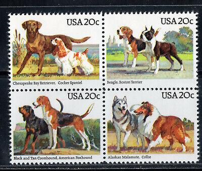 BLACK /& TAN COONHOUND USA 1984 MNH Dog Art Postage Stamp AMERICAN FOXHOUND