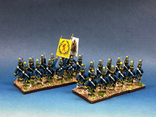 15mm Seven Years War WGS Painted Sweden Drottningens Livregemente Grenadier SA11