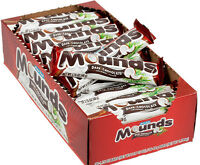 Peter Paul Mounds Dark Chocolate Candy Bars Fast Ship