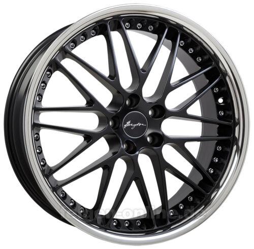 9,5x 19 Zoll BMW 3er E90 E91 E92 E93 Breyton Spirit II black 4 Felgen 8,5x19