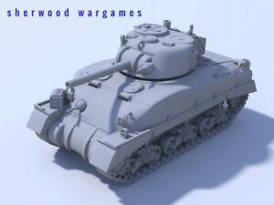 28mm Blitzkrieg Miniatures WW2 Sherman MK II Tank 1//56 scale