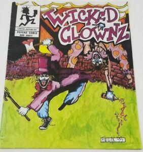 Insane Clown Posse - Wicked Clownz Comic Book Riddle Box ICP juggalo twiztid