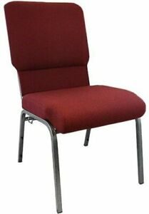 Maroon-Church-Chairs-18-5-inches-PCHT185-104-BR-New