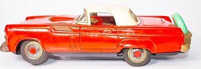Batterie Operation Senility VerzöGern Blechspielzeug Aus Dem Ausland Importiert Vintage Blech Litho 1956 Ford Thunderbird Smart M